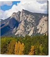 Estes Lake Autumn View  Canvas Print