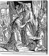 Esther & Ahasuerus Canvas Print