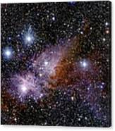 Eta Carinae Nebula, Infrared Image Canvas Print