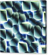 Etched Silicon Wafer Canvas Print