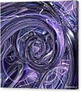 Eternal Depth Of Abstract And Chrome Fx  Canvas Print