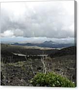 Etna's Landscape Canvas Print