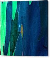 Eucalyptus Tree Trunk Canvas Print