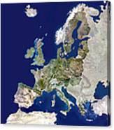 European Union Canvas Print