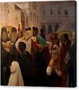 Euthimiev Monastry 48 Canvas Print