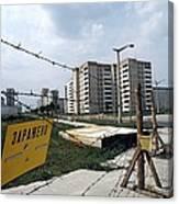 Evacuated Town Near Chernobyl, Ukraine Canvas Print
