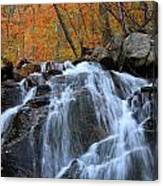Evans Notch Waterfall Canvas Print