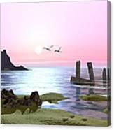 Even Tide Canvas Print