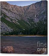 Evening At Chimney Pond  Canvas Print