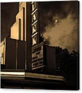 Evening At The Lark - Larkspur California - 5d18484 - Sepia Canvas Print