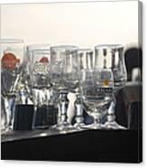 Evening Drinks Canvas Print