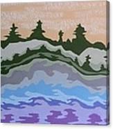 Evening Impressions Canvas Print