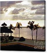 Evening In The Keys - Key Largo Canvas Print