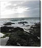 Evening Oceanview Canvas Print