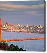 Evening Over San Francisco Canvas Print