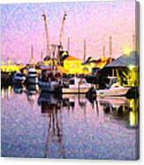 Evening Peace Canvas Print