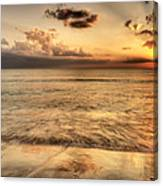 Evening Rays  Canvas Print