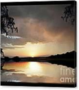 Evening Scene Canvas Print