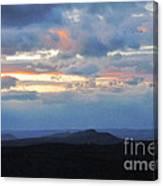 Evening Sky Over The Quabbin Canvas Print