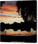 Evenings On The Water  Canvas Print