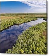 Everglades Waterway Canvas Print