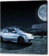 Evo 7 At Night Canvas Print