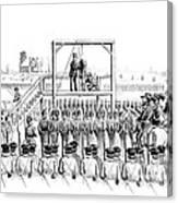 Execution Of John Brown, American Canvas Print