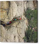 Exiting Cliff Palace Canvas Print