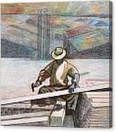 Experienced Craftsman Canvas Print