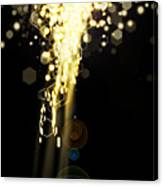 Explosion Of Lights Canvas Print