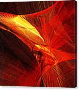 Explosive Dance Canvas Print