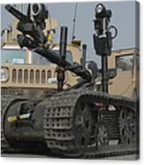 Explosive Ordnance Disposal Robot Used Canvas Print