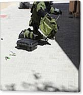 Explosive Ordnance Disposal Technician Canvas Print