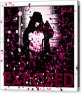 Exposed In Pink Canvas Print