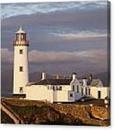 Exterior Of Fanad Lighthouse Fanad Canvas Print