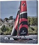Extreme 40 Team Alinghi Canvas Print