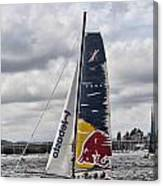 Extreme 40 Team Red Bull Canvas Print