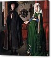Eyck: Arnolfini Marriage Canvas Print