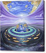 Eye Of God Canvas Print