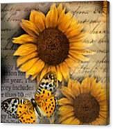 Eyes On Fall Canvas Print
