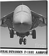 F-111e Aardvark Canvas Print