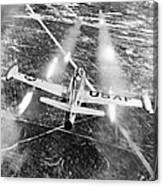 F-84 Thunderjet, 1949 Canvas Print