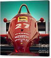 1985 Ferrari 156/85 F1 Nose Canvas Print
