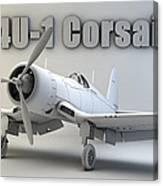 F4u-1 Corsair Canvas Print