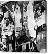 Faber: Mural Painting, C1940 Canvas Print