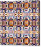 Fabric Art Canvas Print