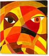 Face 45 Canvas Print