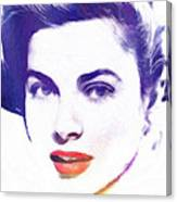 Face Of Beauty Canvas Print