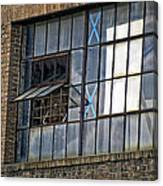 Factory Air In New Orleans Canvas Print