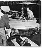 Factory: Chevrolet, 1960s Canvas Print